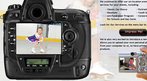 What An Impression! - On location event photography - Personalized photo gifts