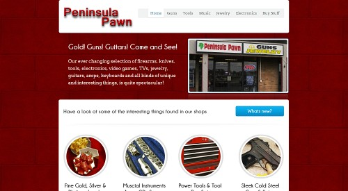 Peninsula Pawn - Buying your gold, silver, guns, electronics, instruments, jewelry, tools and more