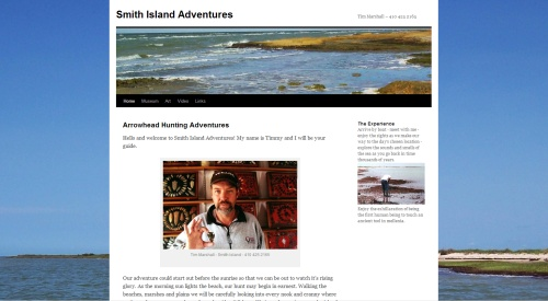 Smith Island Adventures - Native American and Colonial Artifacts, Sea Glass, Photo Walks